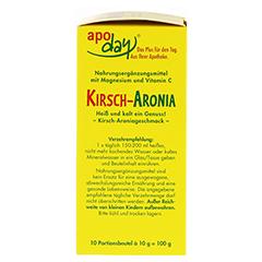 APODAY Kirsch Magnesium+Vitamin C Pulver 10x10 Gramm - Rechte Seite