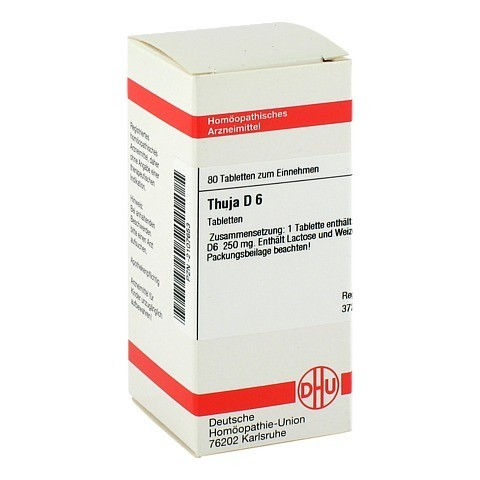 THUJA D 6 Tabletten 80 Stück N1