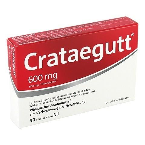 Crataegutt 600mg 30 St�ck N1