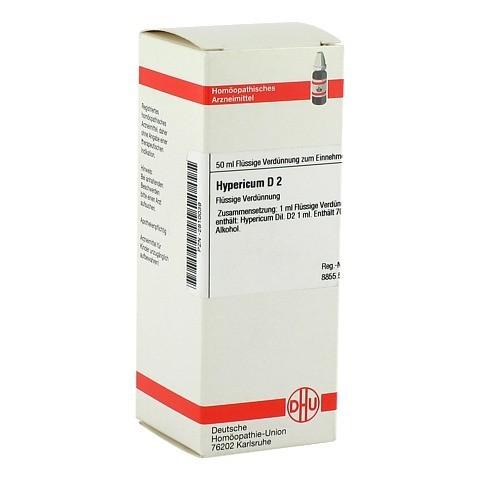 HYPERICUM D 2 Dilution 50 Milliliter N1