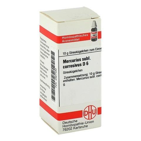 MERCURIUS SUBLIMATUS corrosivus D 6 Globuli 10 Gramm N1