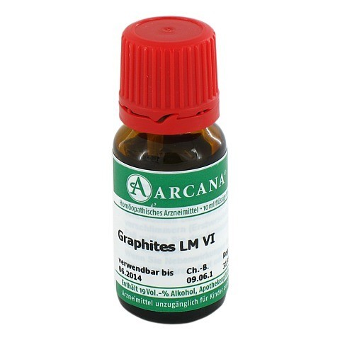 GRAPHITES Arcana LM 6 Dilution 10 Milliliter N1