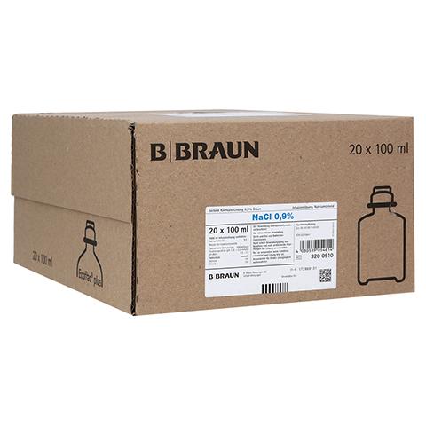 ISOTONE Kochsalz-Lösung 0,9% Braun Ecoflac Plus 20x100 Milliliter N3