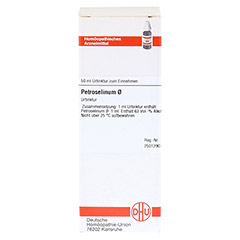 PETROSELINUM Urtinktur 50 Milliliter N1 - Vorderseite