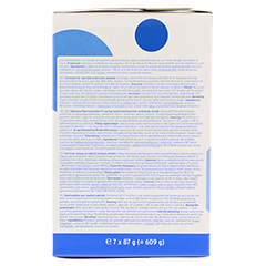 CALSHAKE Vanille Beutel Pulver 7x87 Gramm - Linke Seite