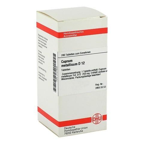 CUPRUM METALLICUM D 12 Tabletten 200 Stück N2