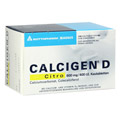 CALCIGEN D Citro 600 mg/400 I.E. Kautabletten 120 Stück N3