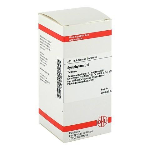 SYMPHYTUM D 4 Tabletten 200 Stück N2