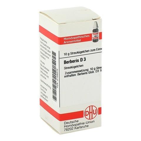 BERBERIS D 3 Globuli 10 Gramm N1