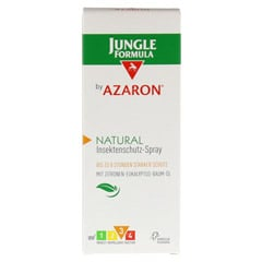 JUNGLE Formula by AZARON NATURAL Spray 75 Milliliter - Vorderseite