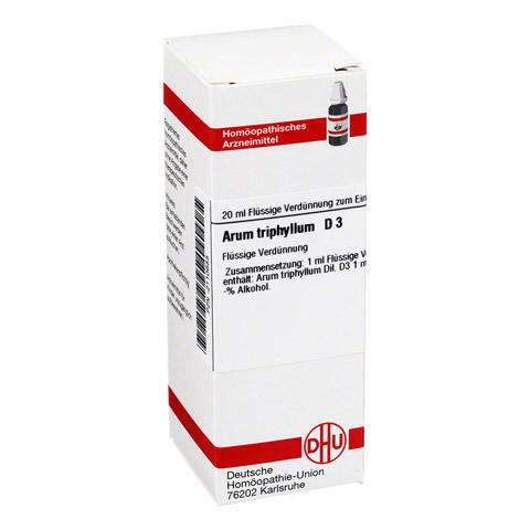 ARUM TRIPHYLLUM D 3 Dilution 20 Milliliter N1