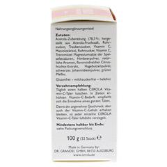 CEROLA Vitamin C Taler Grandel 32 Stück - Rechte Seite