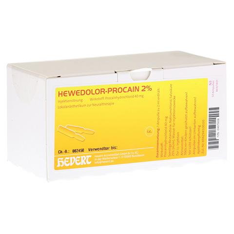 HEWEDOLOR Procain 2% Ampullen 50 Stück N3