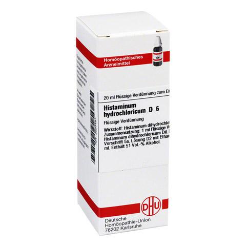 HISTAMINUM hydrochloricum D 6 Dilution 20 Milliliter N1