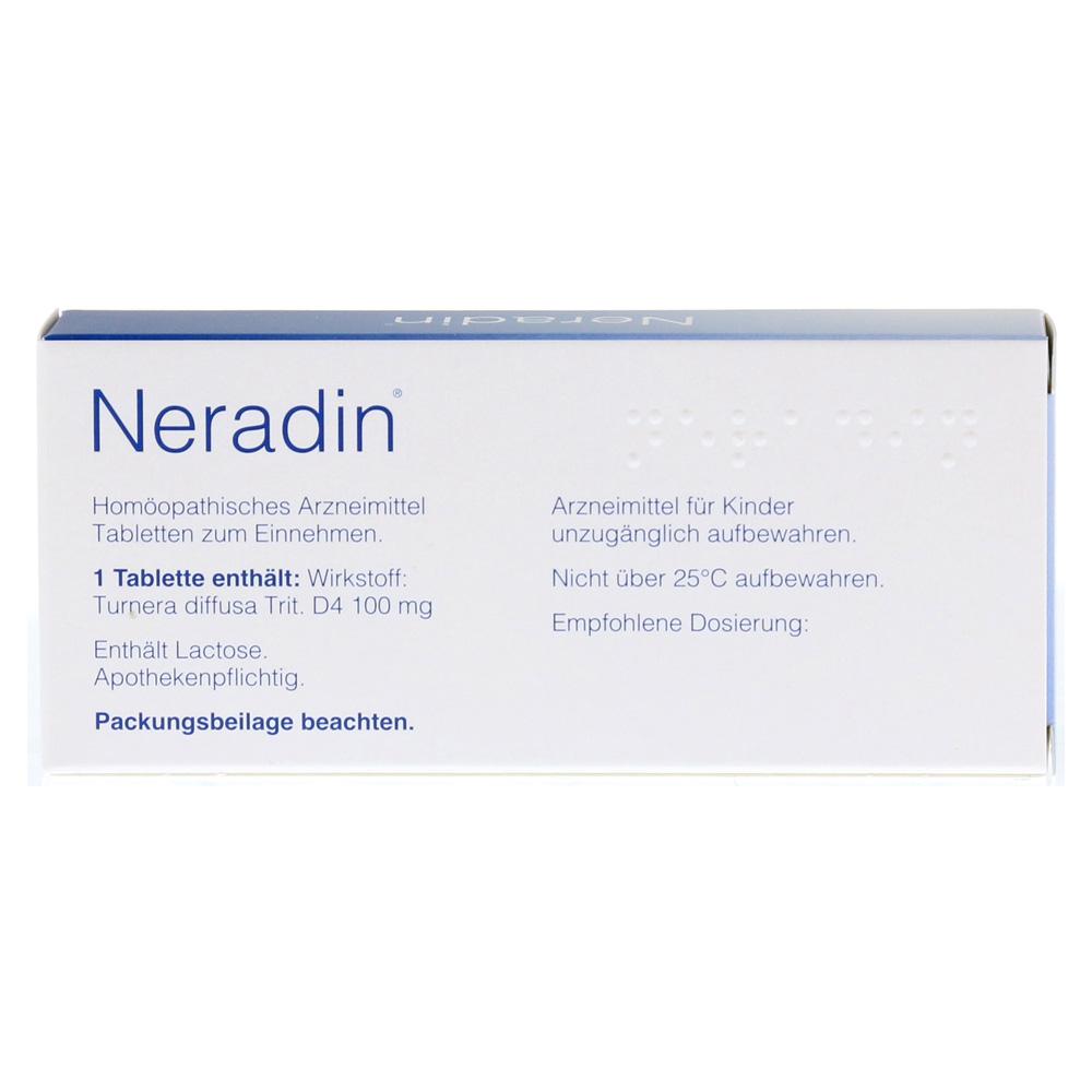 Erfahrungen zu NERADIN Tabletten 40 Stück - medpex