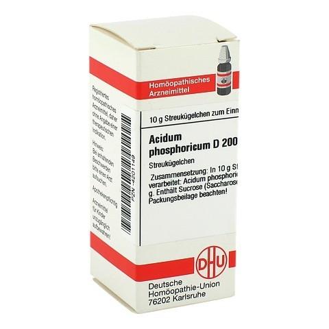 ACIDUM PHOSPHORICUM D 200 Globuli 10 Gramm N1