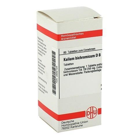 KALIUM BICHROMICUM D 8 Tabletten 80 St�ck N1
