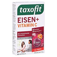 Taxofit Eisen+Vitamin C 40 Stück