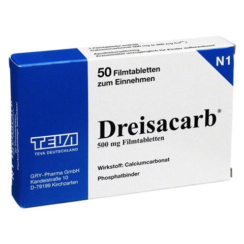DREISACARB Filmtabletten 50 St�ck