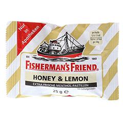 FISHERMANS FRIEND Honey & Lemon ohne Zucker Pasti. 25 Gramm