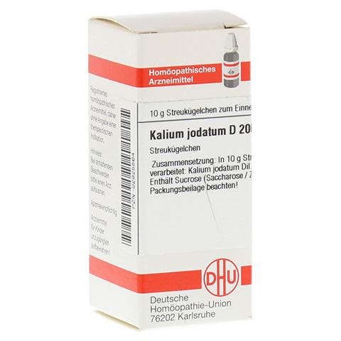 KALIUM JODATUM D 200 Globuli 10 Gramm N1