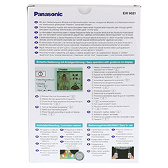 PANASONIC EW6021 Muskelstimulator Tens 1 St�ck - R�ckseite