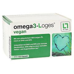 OMEGA 3-Loges vegan Kapseln 120 Stück