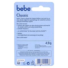 BEBE Young Care Lipstick Classic 4.9 Gramm - Rückseite