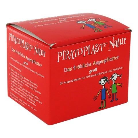 PIRATOPLAST Natur Augenpflaster gro� 57x72 mm 50 St�ck