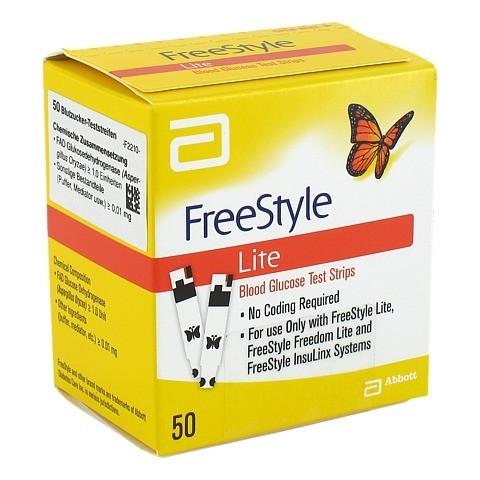 FREESTYLE Lite Teststreifen ohne Codieren 50 St�ck