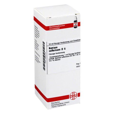 NATRIUM SULFURICUM D 6 Dilution 50 Milliliter N1