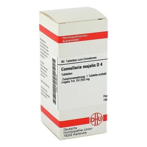 CONVALLARIA MAJALIS D 4 Tabletten 80 Stück N1