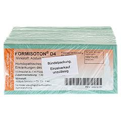 FORMISOTON D 4 Ampullen 10x10x1 Milliliter - Vorderseite