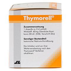THYMORELL Injektionsl�sung in Ampullen 25x2 Milliliter N3 - Linke Seite
