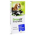 DRONCIT 50 mg Tabletten f�r Hunde/Katzen 20 St�ck