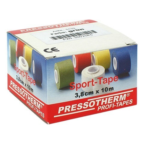PRESSOTHERM Sport-Tape 3,8 cmx10 m gr�n 1 St�ck