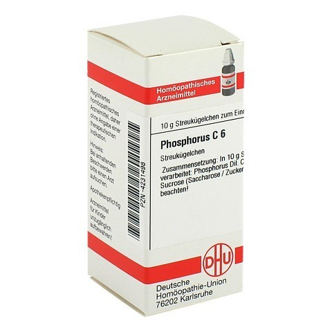 PHOSPHORUS C 6 Globuli 10 Gramm N1