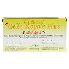 GELEE ROYALE Plus ohne Alkohol Trinkampullen 20x10 Milliliter - Vorderseite