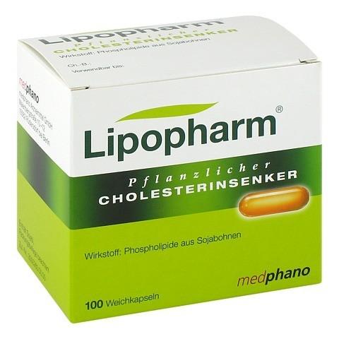 Lipopharm Pflanzlicher Cholesterinsenker Weichkapseln 100 St�ck N2