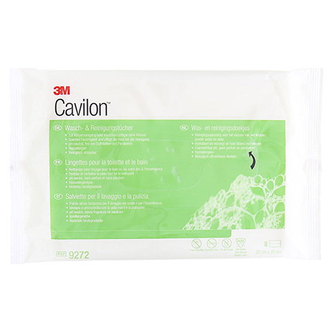 CAVILON 3M Wasch- & Reinigungstuch 9272 8 Stück