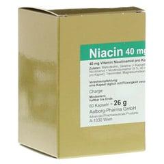 NIACIN 40 mg pro Kapsel 60 St�ck