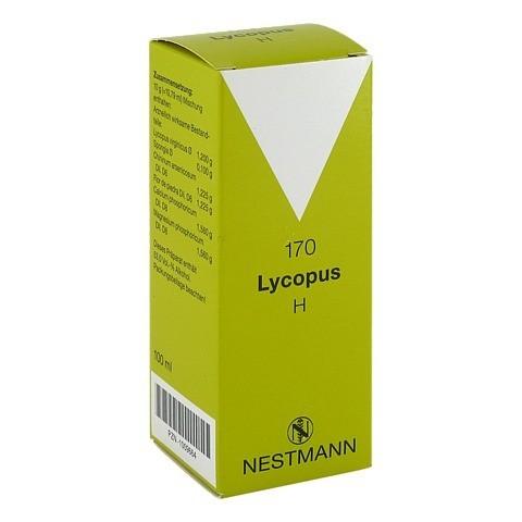 LYCOPUS H Nr.170 Tropfen 100 Milliliter N2
