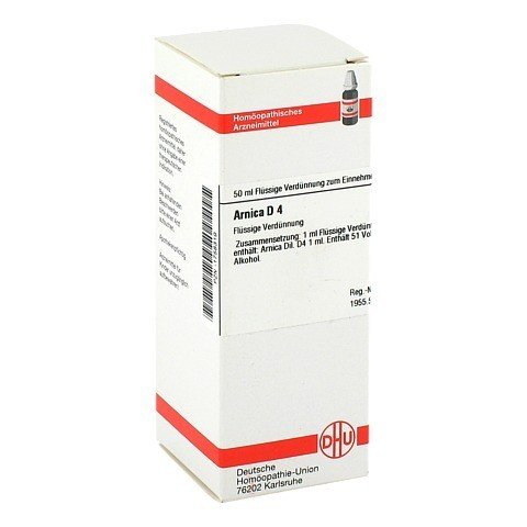 ARNICA D 4 Dilution 50 Milliliter N1