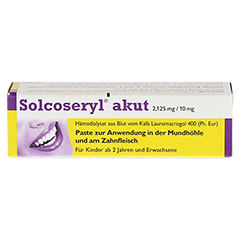 Solcoseryl akut 2,125mg/10mg 5 Gramm - Vorderseite