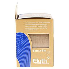 KINESIOLOGIE Tape Elyth 5 cmx5 m neutral 1 St�ck - Linke Seite