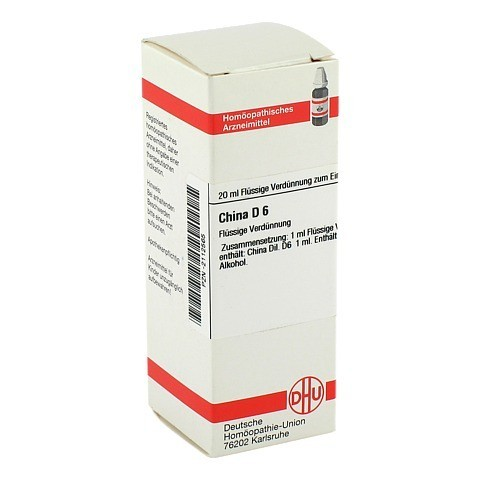 CHINA D 6 Dilution 20 Milliliter N1