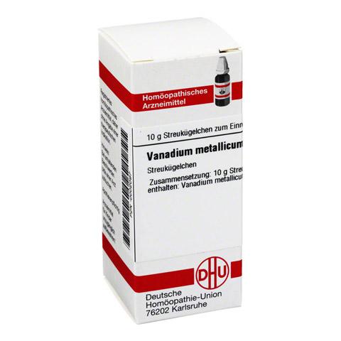 VANADIUM metallicum C 30 Globuli 10 Gramm N1