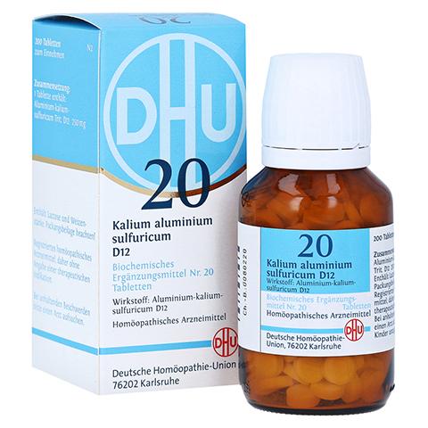 BIOCHEMIE DHU 20 Kalium alum.sulfur.D 12 Tabletten 200 St�ck N2