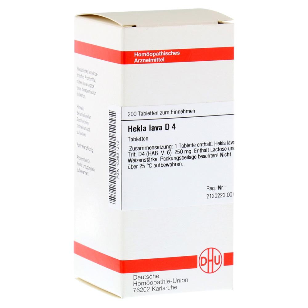 HEKLA LAVA D 4 Tabletten 200 Stück
