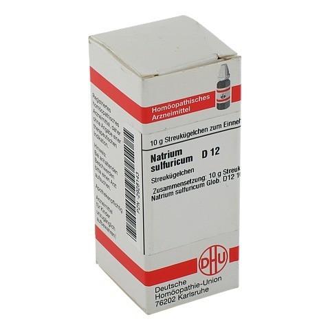NATRIUM SULFURICUM D 12 Globuli 10 Gramm N1